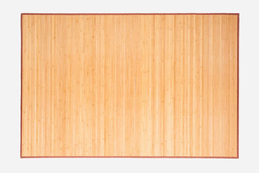alfombra de bamb lehka natural