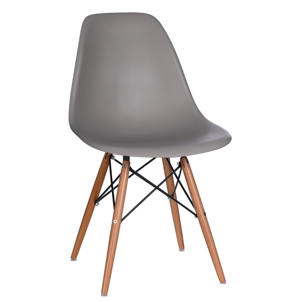 SILLA BEVERLY TOWER GRIS INTENSO
