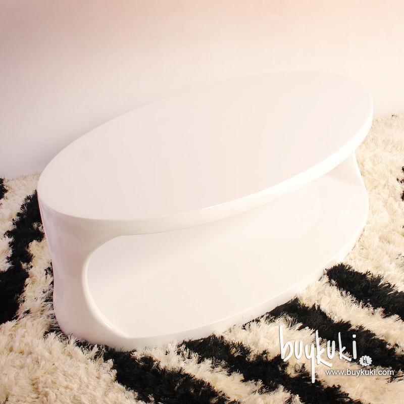 Mesa de centro seymour fiberglass blanca buykuki 00
