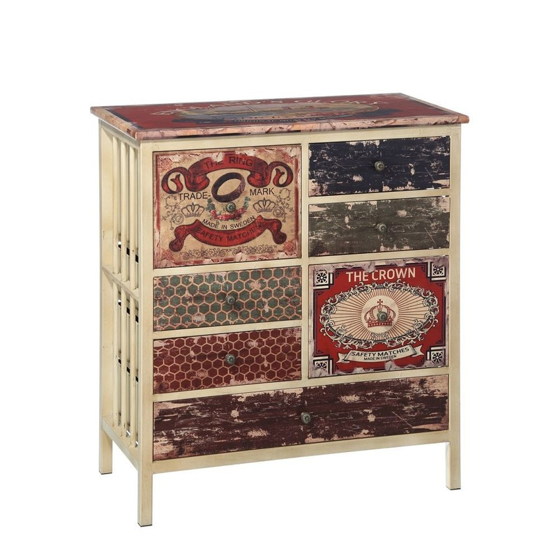 C moda prints madera buykuki for Muebles vintage outlet