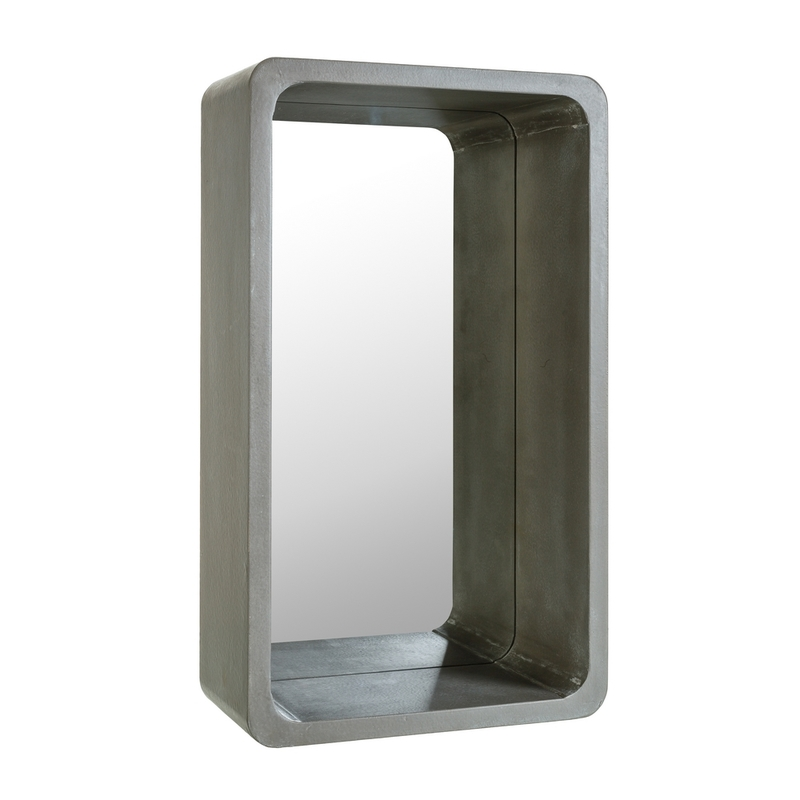Espejo rectangular citygrey gris m buykuki for Espejo rectangular