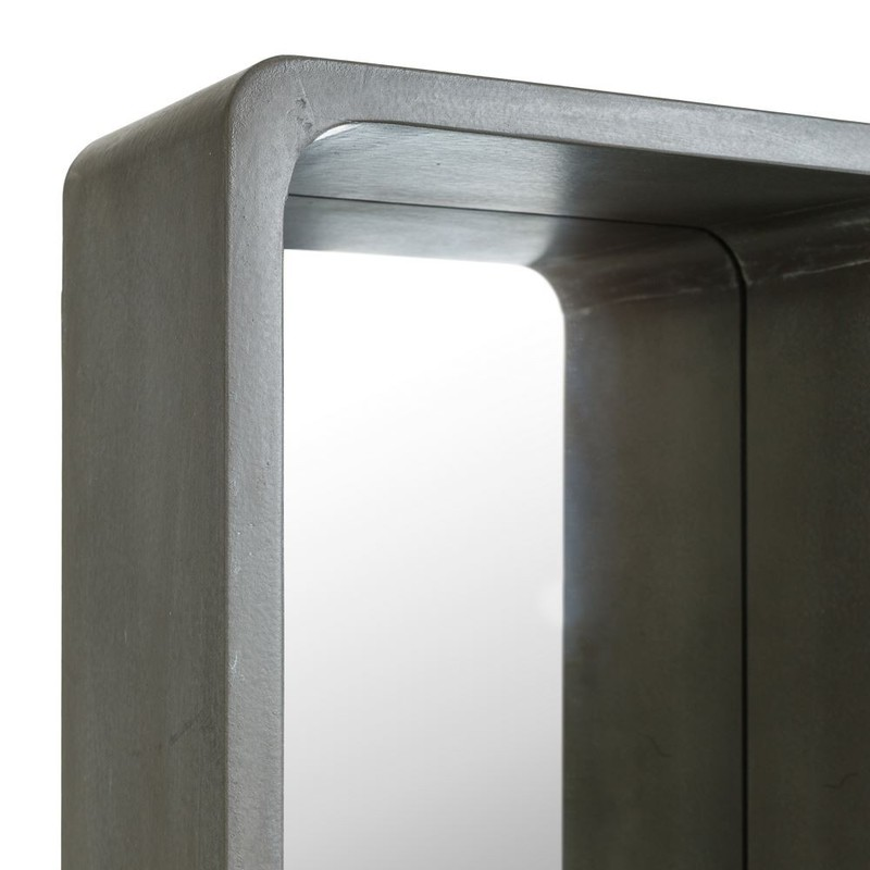 Espejo rectangular citygrey gris s buykuki for Espejo rectangular