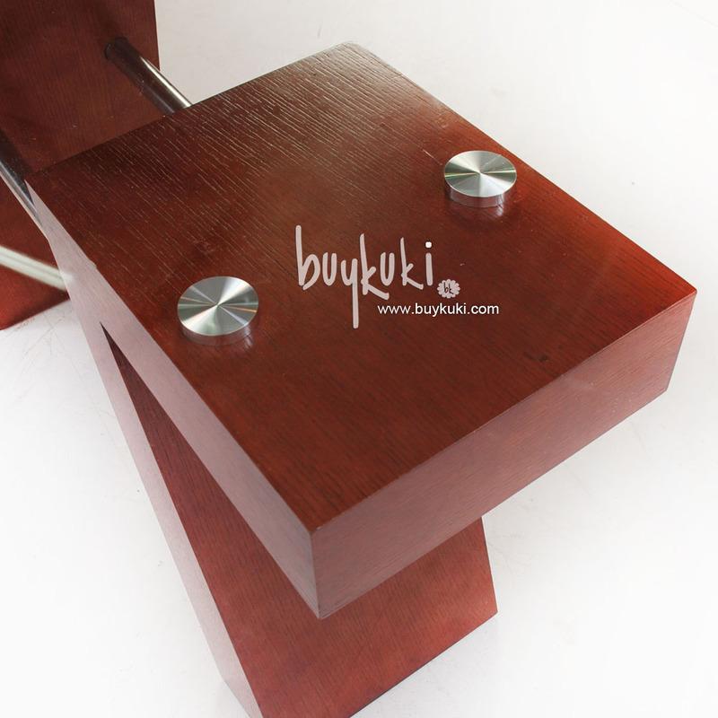 Mesa de comedor dise o elegante cristal y madera buykuki - Mesas de comedor de cristal de diseno ...