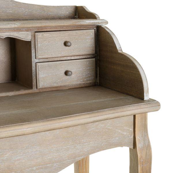 Mueble auxiliar bur classic madera buykuki for Mueble auxiliar pequeno