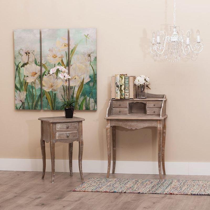 Mueble auxiliar bur classic madera buykuki for Classic muebles uruguay