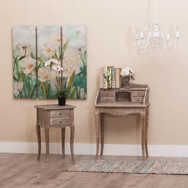 Mueble auxiliar bur classic madera buykuki for Muebles auxiliares clasicos madera